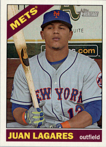 Photo of 2015 Topps Heritage #372 Juan Lagares