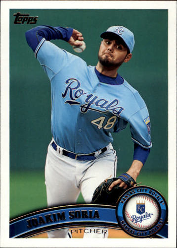 Photo of 2011 Topps #540 Joakim Soria