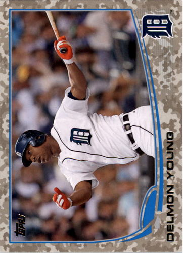 Photo of 2013 Topps Camo #121 Delmon Young