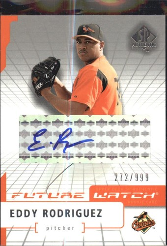 Photo of 2004 SP Authentic Future Watch Autograph #100 Eddy Rodriguez FW