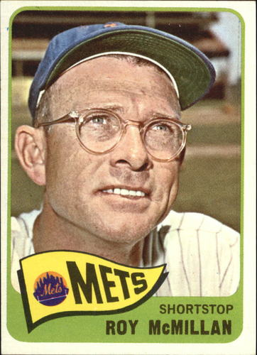 Photo of 1965 Topps #45 Roy McMillan