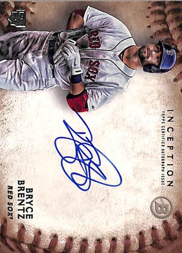 Photo of 2015 Bowman Inception Rookie Autographs #RABB Bryce Brentz