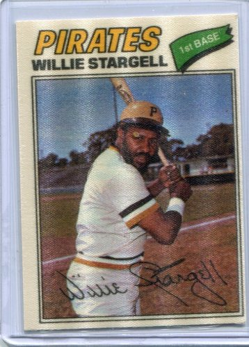 Photo of 1977 Topps Cloth Stickers #45 Willie Stargell