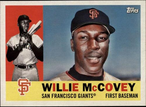 Photo of 2017 Topps Archives #24 Willie McCovey