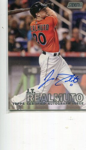 Photo of 2016 Stadium Club Autographs  J.T. Realmuto