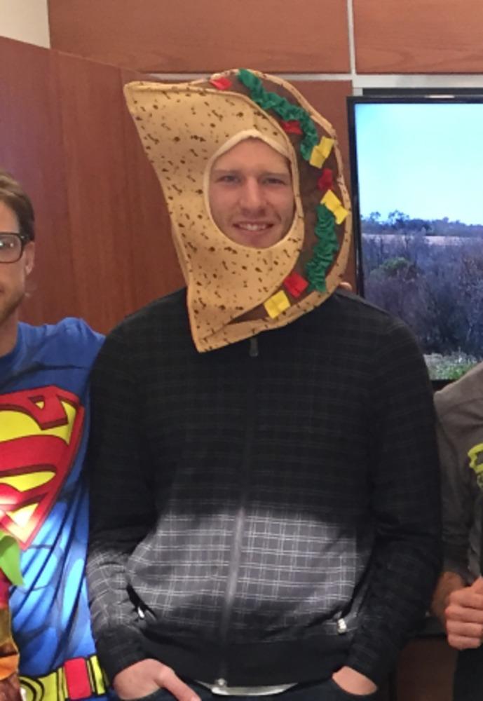 Jordan Staal #11 Autographed Taco Halloween Costume