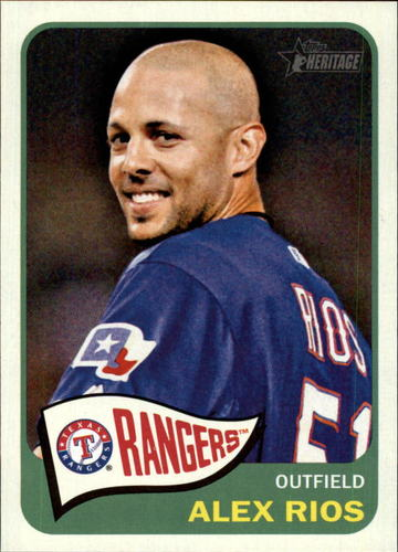 Photo of 2014 Topps Heritage #85 Alex Rios