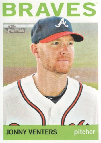 Photo of 2013 Topps Heritage #335A Jonny Venters