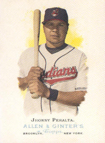 Photo of 2006 Topps Allen and Ginter #16 Jhonny Peralta