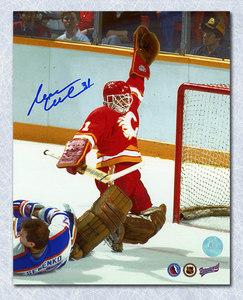 Reggie Lemelin Calgary Flames Autographed 8x10 Photo