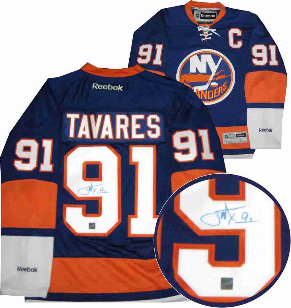 John Tavares - Signed New York Islanders Reebok Premier Home Jersey