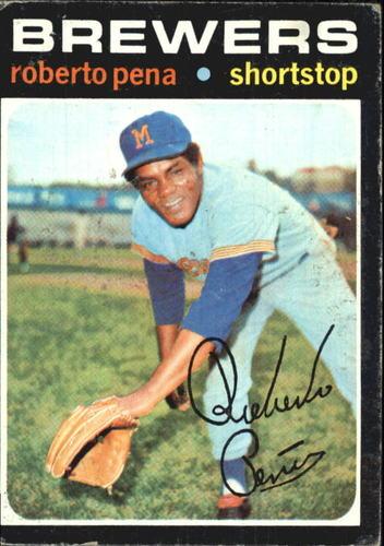 Photo of 1971 Topps #334 Roberto Pena