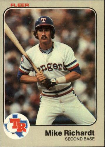 Photo of 1983 Fleer #575 Mike Richardt