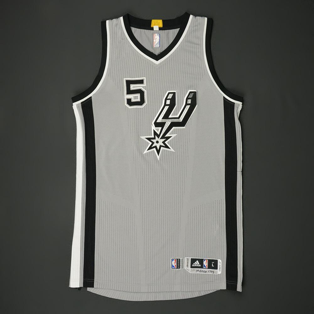 Dejounte Murray - San Antonio Spurs - NBA Global Games 2017 Mexico City - Game-Issued Jersey