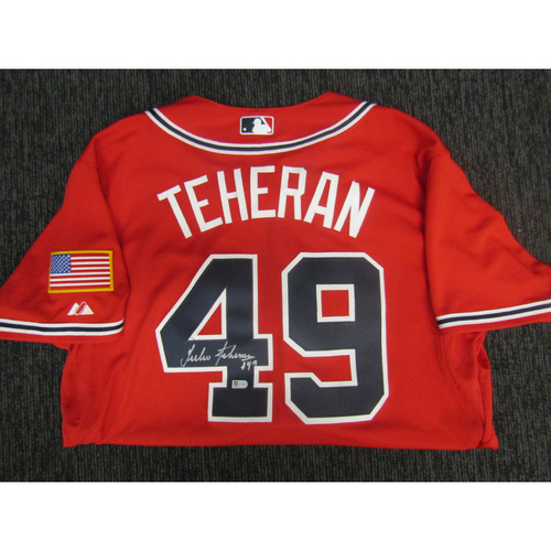 Photo of Braves Charity Auction - Julio Teheran Jersey