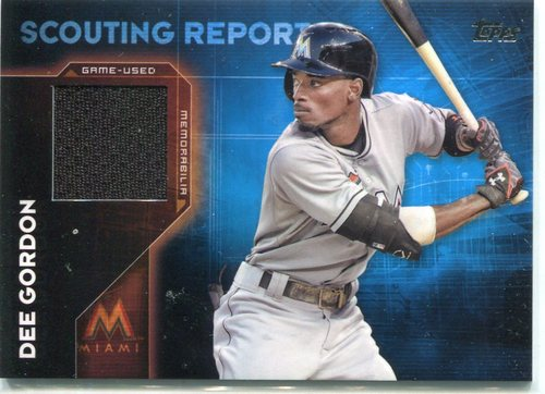 Photo of 2016 Topps Scouting Report Relics Dee Gordon