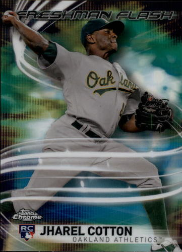 Photo of 2017 Topps Chrome Freshman Flash #FF13 Jharel Cotton