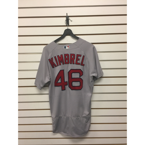 Photo of Craig Kimbrel Game-Used April 20, 2017 Road Jersey