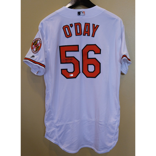 Photo of Darren O'Day - Jersey: Autographed