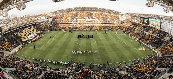 LAFC MATCH: 3/10 LAFC VS. PORTLAND (4 SUITE TICKETS + PRE-MATCH SIDELINE ACCESS)