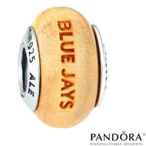 Toronto Blue Jays Wood Charm by PANDORA® Jewellery