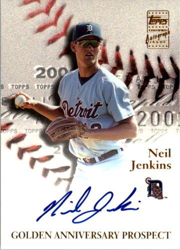 Photo of 2001 Topps Golden Anniversary Autographs #GAANJ Neil Jenkins I2