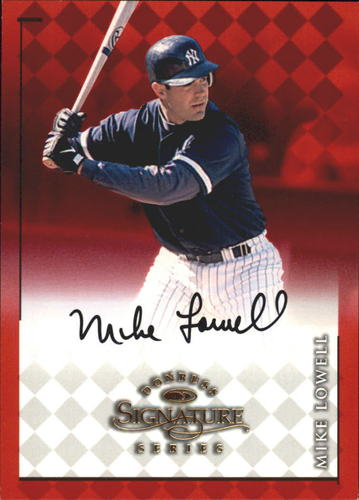 Photo of 1998 Donruss Signature Autographs #56 Mike Lowell/3500*