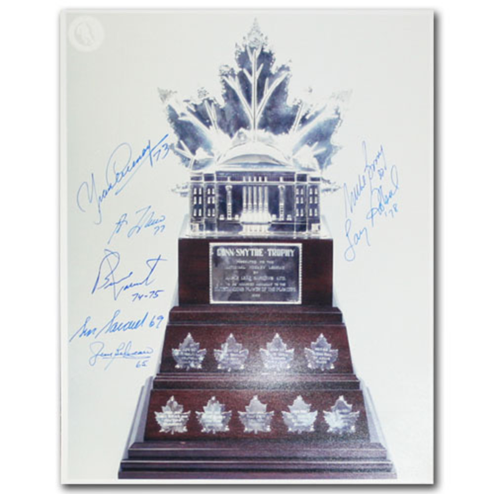 Conn Smythe Trophy - Multi-Signed 11X14 Photo - 7 Signatures
