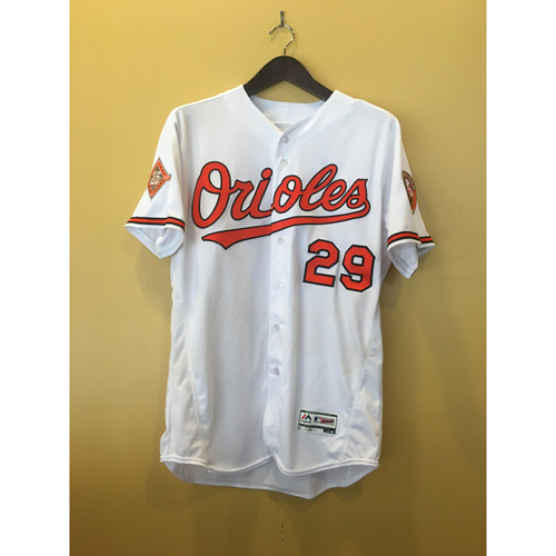 Photo of Wellington Castillo - 2017 Opening Day Jersey: Game-Used