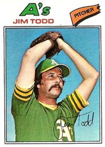 Photo of 1977 Topps #31 Jim Todd