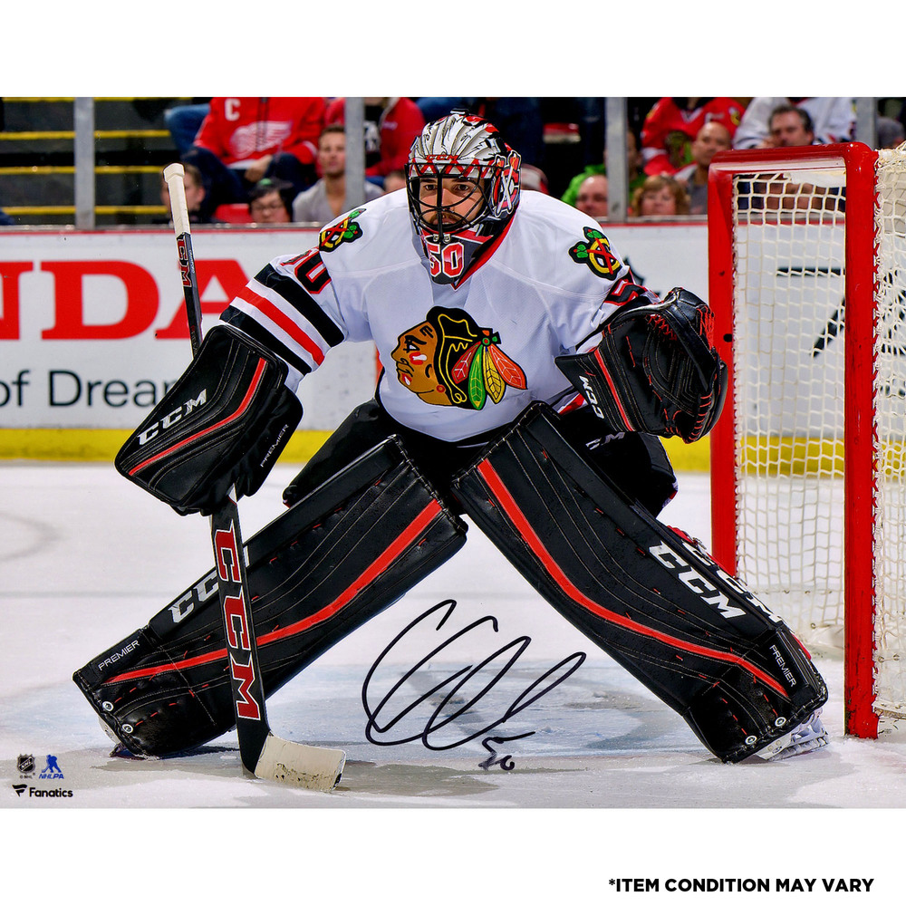Corey Crawford Chicago Blackhawks Autographed 8