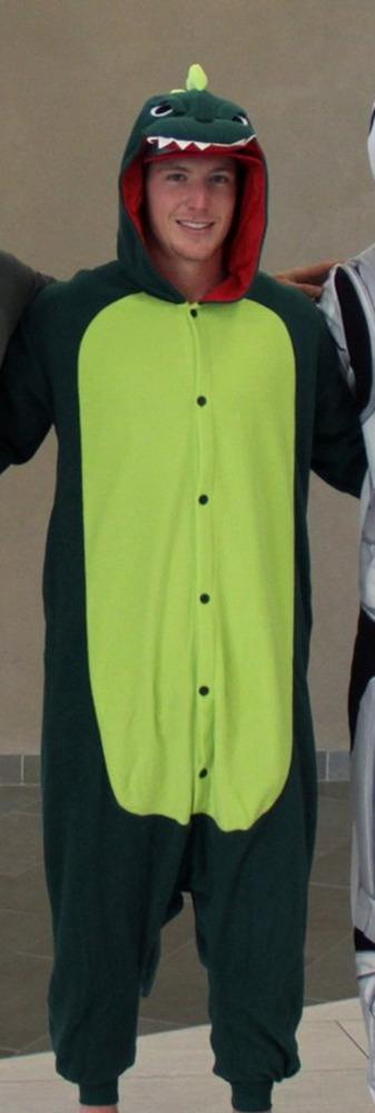 Brock McGinn #23 Autographed Dinosaur Halloween Costume