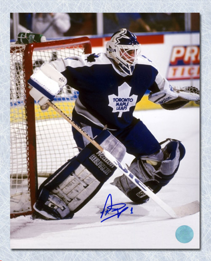 Peter Ing Toronto Maple Leafs Autographed Goalie 8x10 Photo