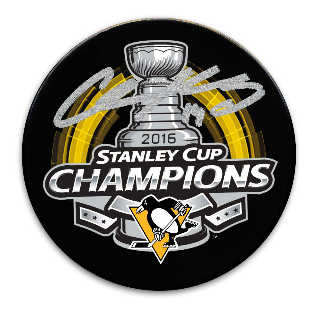 Chris Kunitz Pittsburgh Penguins 2016 Stanley Cup Champs Autographed Puck
