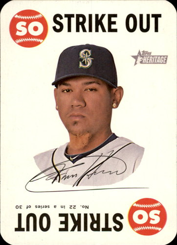 Photo of 2017 Topps Heritage Topps Game #22 Felix Hernandez