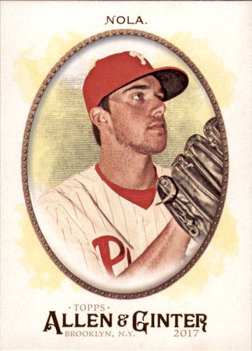 Photo of 2017 Topps Allen and Ginter #206 Aaron Nola