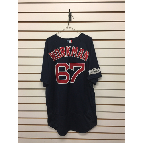 Photo of Brandon Workman Team-Issued Road Alternate Jersey