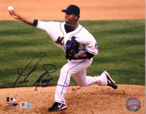 Photo of Pedro Martinez Autographed Mets 8x10
