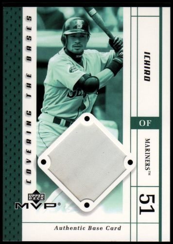 Photo of 2003 Upper Deck MVP Covering the Bases #IS Ichiro Suzuki