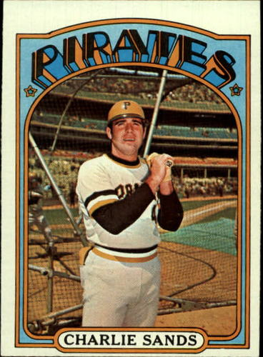 Photo of 1972 Topps #538 Charlie Sands RC