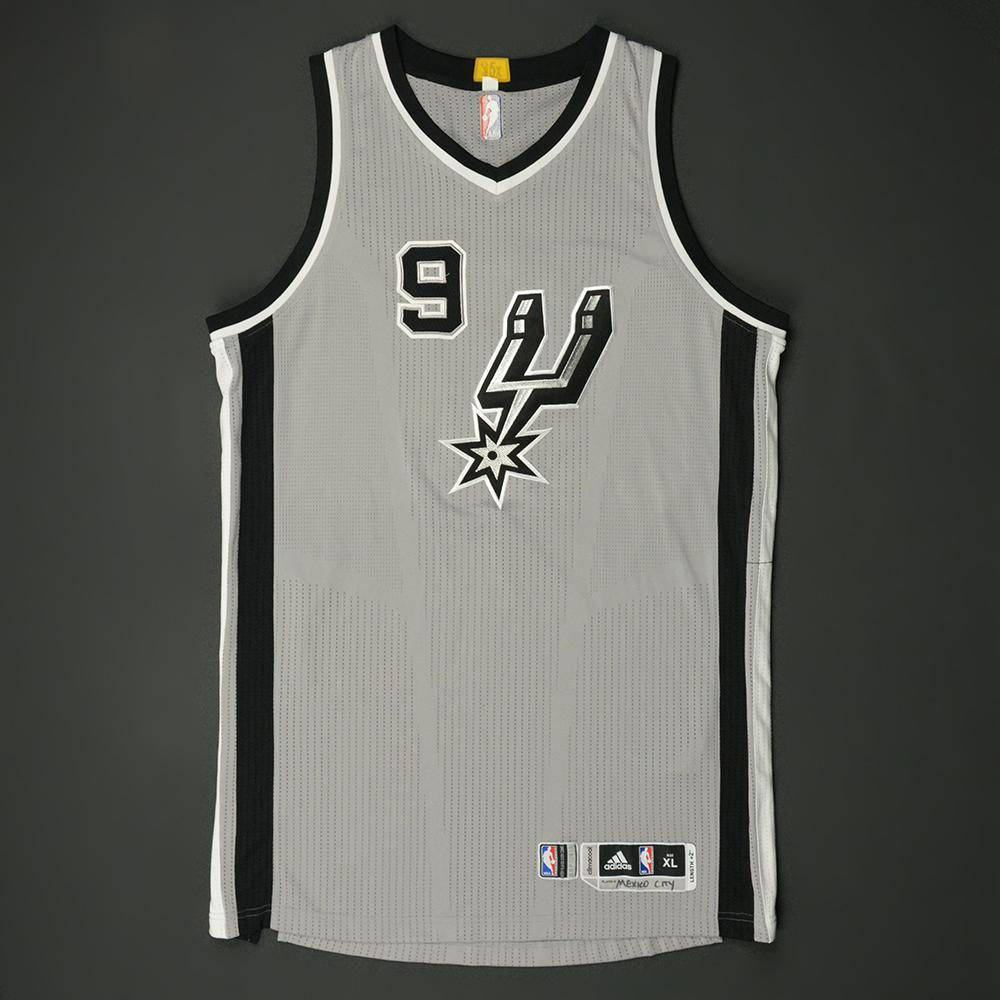 Tony Parker - San Antonio Spurs - NBA Global Games 2017 Mexico City - Game-Worn Jersey