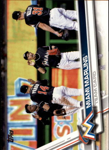 Photo of 2017 Topps #217 Miami Marlins