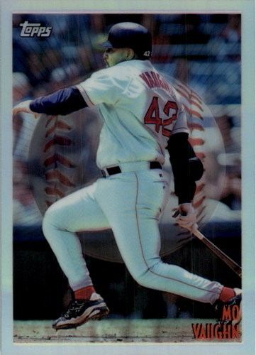 Photo of 1998 Topps Mystery Finest Bordered Refractors #M5 Mo Vaughn