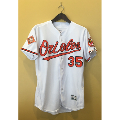Photo of Brad Brach - 2017 Opening Day Jersey: Game-Used
