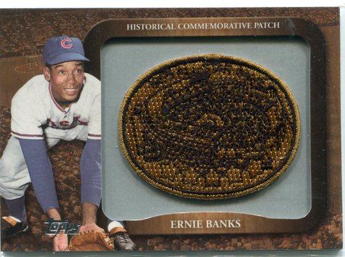 Photo of 2009 Topps Legends Commemorative Patch #LPR119 Ernie Banks