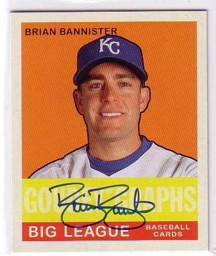 Photo of 2007 Upper Deck Goudey Goudey Graphs #BB Brian Bannister