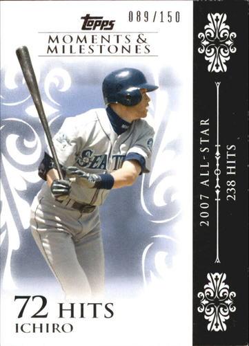 Photo of 2008 Topps Moments and Milestones #63-72 Ichiro Suzuki