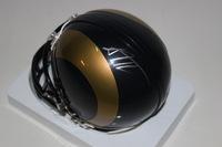 NFL - RAMS SEAN MANNION SIGNED RAMS MINI HELMET