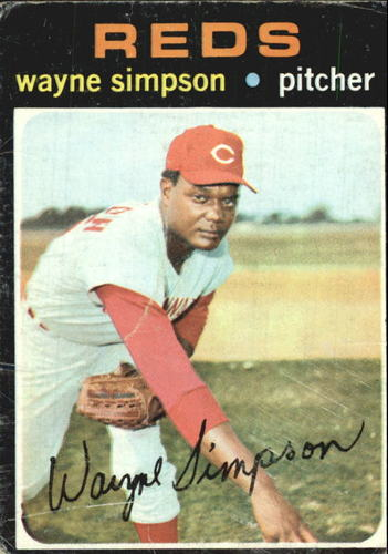 Photo of 1971 Topps #339 Wayne Simpson