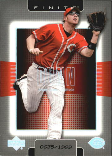Photo of 2003 Upper Deck Finite #29 Adam Dunn